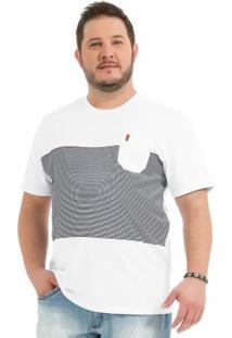 Camiseta Rovitex Branco