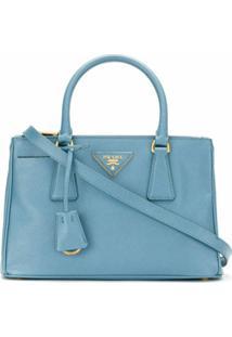 Prada Bolsa Tote Galleria - Azul