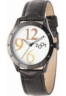 Relógio Feminino Zoot Casual Big Numbers Zw10095-P - Feminino