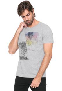 Camiseta Aramis Coqueiro Cinza