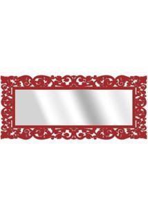 Espelho De Parede 15177V Vermelho 70X158 Art Shop