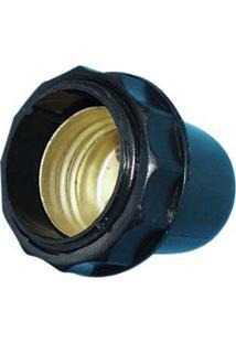 Soquete De Latão Para Coluna De Abajur 250V 1780 Kit-Flex