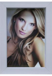Porta-Retrato Caixa Color Branco 15X21Cm