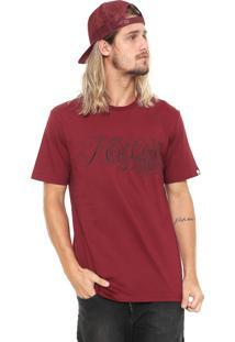 Camiseta Mcd Lines Vinho