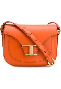 Tod'S Mini Camera Shoulder Bag - Laranja