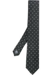 Dolce & Gabbana Gravata Com Padronagem - Preto