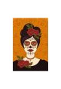 Painel Adesivo De Parede - Caveira Mexicana - 1661Pnm