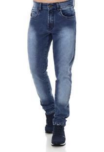 Calça Jeans Masculina Bivik Azul
