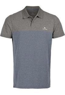 Camiseta Polo Focus Rip Curl - Masculino