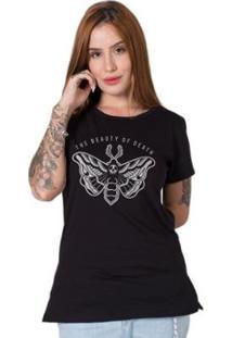 Camiseta Stoned Beauty Of Death Feminina - Feminino