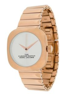 Marc Jacobs Watches Relógio The Cushion - Dourado