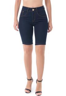 Bermuda Jeans Pkd Gancho Alto