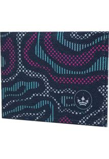 Carteira Hosh Wear Super Slim Board Azul - Multicolorido - Dafiti