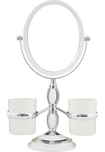 Espelho De Bancada Com Suportes Laterais- Espelhado & Prjacki Design