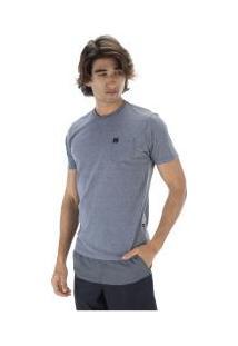 Camiseta Hd Pocket 5592A - Masculina - Cinza