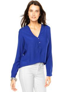 Camisa Mng Barcelona Delo Azul