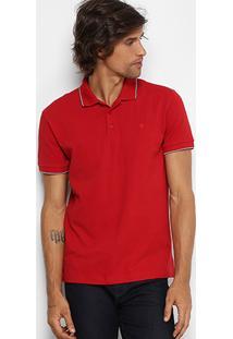 Camisa Polo Forum Piquet Frisos Masculina - Masculino