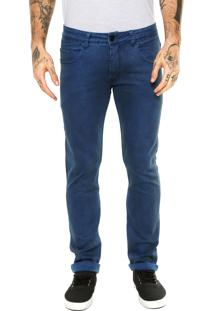 Calça Jeans Quiksilver New Krandy Dusty Azul