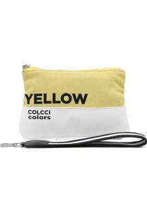 Nécessaire Colcci Color Amarela