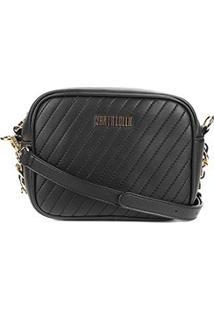 dd7bd51c1 R$ 199,99. Zattini Bolsa Santa Lolla Feminina Preta Mini Bag Transversal ...