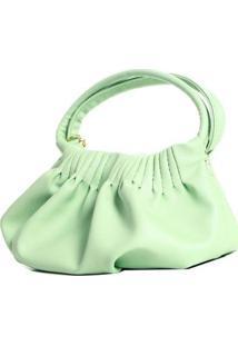 Bolsa Saco Pequena Com Pregas 11104999 - Feminino