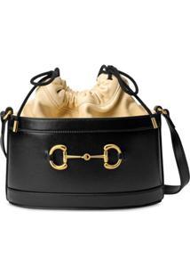 Gucci Bolsa Bucket Gucci 1955 Horsebit - Preto