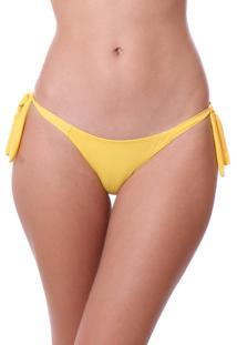 Calcinha Simony Lingerie Fio Ambra Beach Amarelo