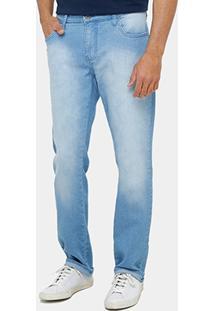 Calça Jeans Forum Reta Gilmar Índigo Masculina - Masculino
