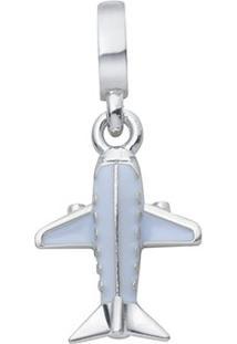 Pingente Life Avião Azul