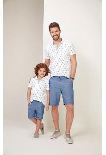 Camisa Polo Tradicional Menino Malwee Kids