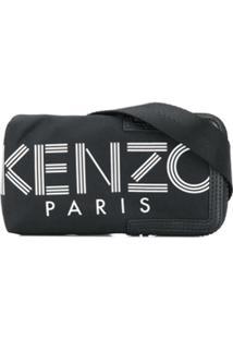 Kenzo Bolsa Transversal Para Iphone - Preto