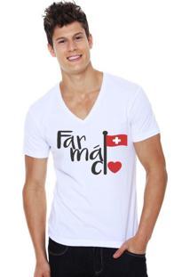 Camiseta Triztam Branca Farmacia
