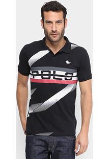 815043a7d9 Camisa Polo Rg 518 Piquet Estampada Masculina - Masculino