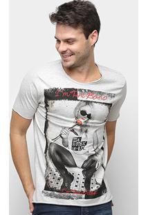 Camiseta Derek Ho I'M The Band Masculina - Masculino-Amarelo Claro