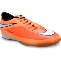 f837e8fd59 Tenis Masc Nike 599810-800 Hypervenom Phade Ic Laranja Neon Preto
