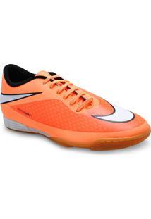 Tenis Masc Nike 599810-800 Hypervenom Phade Ic Laranja Neon/Preto
