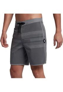 Bermuda Boardshort Hurley Phantom Yesterday Grey - Unissex-Cinza