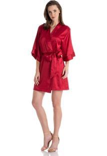 Robe Violeta Vermelho/P