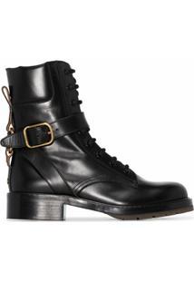 Chloé Ankle Boot Diane - Preto