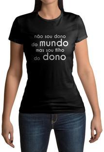 Camiseta Hunter Filho Do Dono Preta