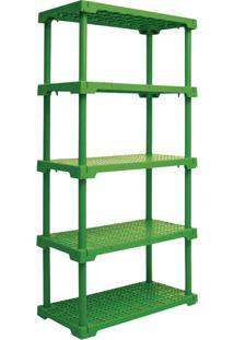 Estante Cube Com 5 Prateleiras Verde