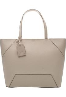 Bolsa Com Recorte & Bag Charm- Off Whitearezzo & Co.
