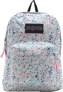 Mochila Jansport Superbreak 25L Off-White