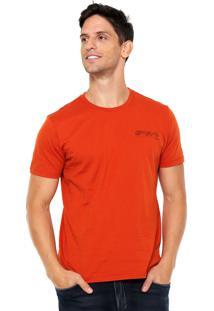 Camiseta Forum Estampa Posterior Laranja