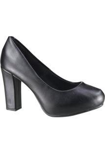 Sapato Beira Rio Conforto Scarpin Feminino