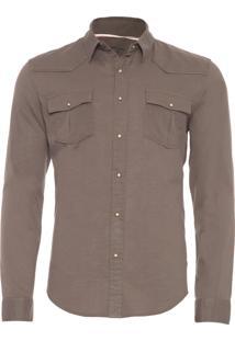 Camisa Masculina Travel Shirt - Verde
