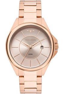 Relógio Technos Analógico 2115Mop/4C Feminino - Feminino-Cobre