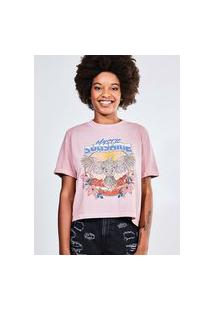 Camiseta Estampada Mystic Sunshine
