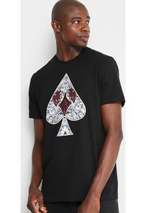 Camiseta Mcd Naipes Masculina - Masculino