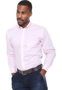 Camisa Aleatory Regular Fit Rosa